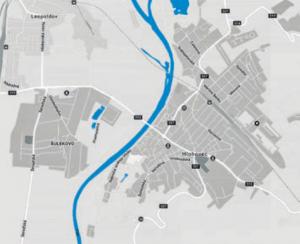 Vrámci prevádzky zásobuje pitnou vodou odberateľov vmeste Hlohovec amestskej časti Šulekovo